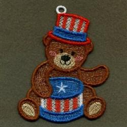 FSL Drum Bear embroidery design
