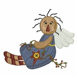 Country Angel embroidery design