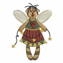 Folk Art Angel embroidery design