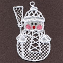FSL Snowman Ornaments embroidery design