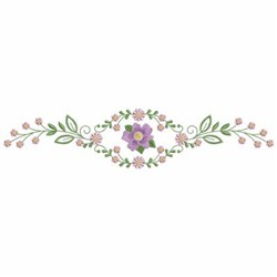 Floral Borders embroidery design