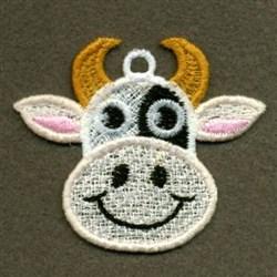 FSL Cow embroidery design