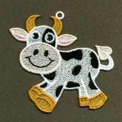 FSL Cows embroidery design