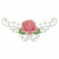 Rose Borders embroidery design