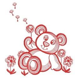 Dandelion Teddy Bear embroidery design