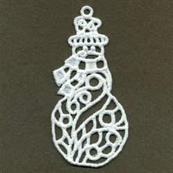 FSL Xmas Snowman embroidery design
