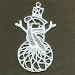 FSL Winter Snowman embroidery design