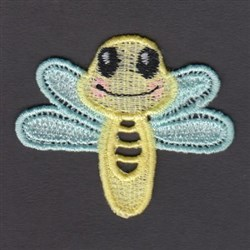 FSL Dragonfly embroidery design