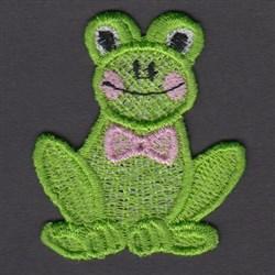 FSL Frog embroidery design