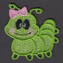 FSL Worm embroidery design