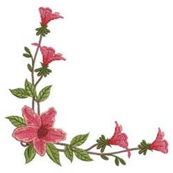 Lily Corner embroidery design