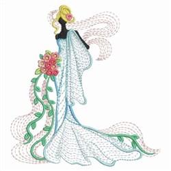 Rippled Wedding embroidery design