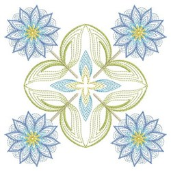 Rippled Quilts embroidery design