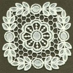 FSL Flower Doily embroidery design