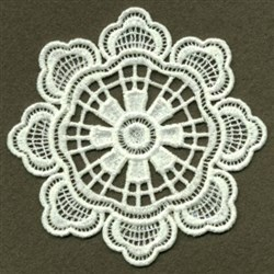 FSL Doily Bloom embroidery design