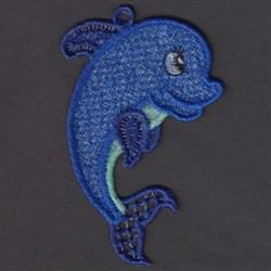 FSL Dolphin embroidery design