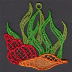 FSL Seashells embroidery design