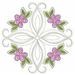 Quilt Violets embroidery design