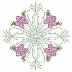 Violets Quilt embroidery design