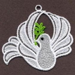 FSL Doves embroidery design