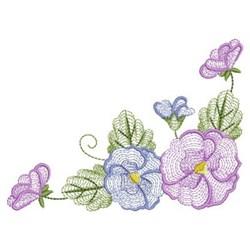Phalaenopsis Corner embroidery design