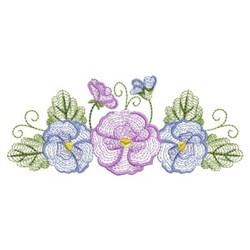 Phalaenopsis Flowers embroidery design