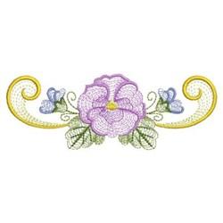 Phalaenopsis Swirl embroidery design