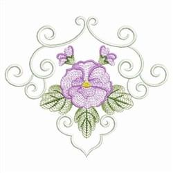 Phalaenopsis Decor embroidery design