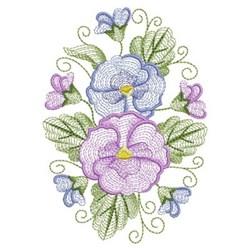 Phalaenopsis Oval embroidery design