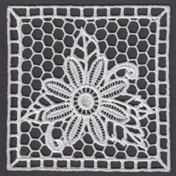 FSL Square Doily embroidery design