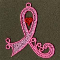 FSL Ribbon Heart embroidery design