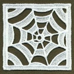 FSL Spiderweb Doily Block embroidery design