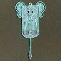 FSL Elephant Bookmark embroidery design