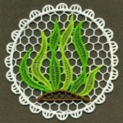 FSL Ocean Kelp Doily embroidery design