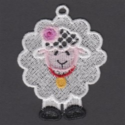 FSL Fluffy Sheep embroidery design