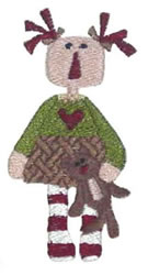 My Sweet Annie embroidery design