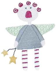 Lil Angel Annie embroidery design