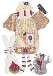 Garden Thyme Annie embroidery design