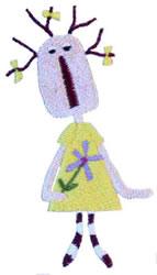 Little Daisy Ann embroidery design