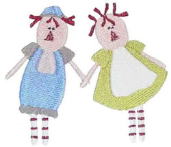 Holding Hands embroidery design
