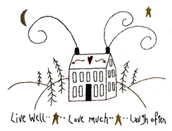 Livewell embroidery design