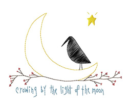 Light of the Moon embroidery design