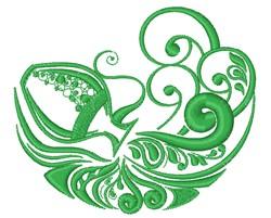 Kraken embroidery design