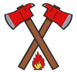 Fireman Axe embroidery design