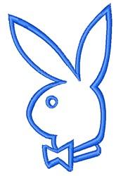 Playboy Bunny embroidery design