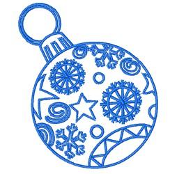 Decorative Christmas Ornament embroidery design