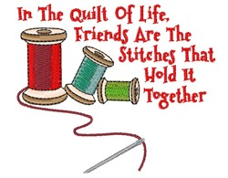 Quilt Of Life embroidery design