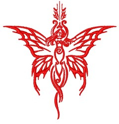 Tribal Fairy embroidery design