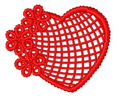 FSL Valentines Day Heart embroidery design