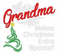 Christmas Grandmas embroidery design
